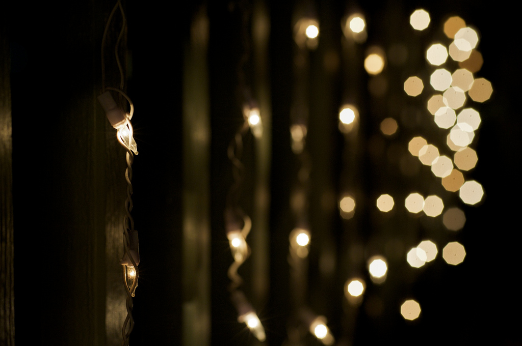 Warm White LED String/Fairy Lights Hire - Eventech UK - Event Production Services Audio Visual ...