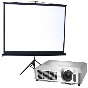 Projector and Screen Hire from Eventech UK