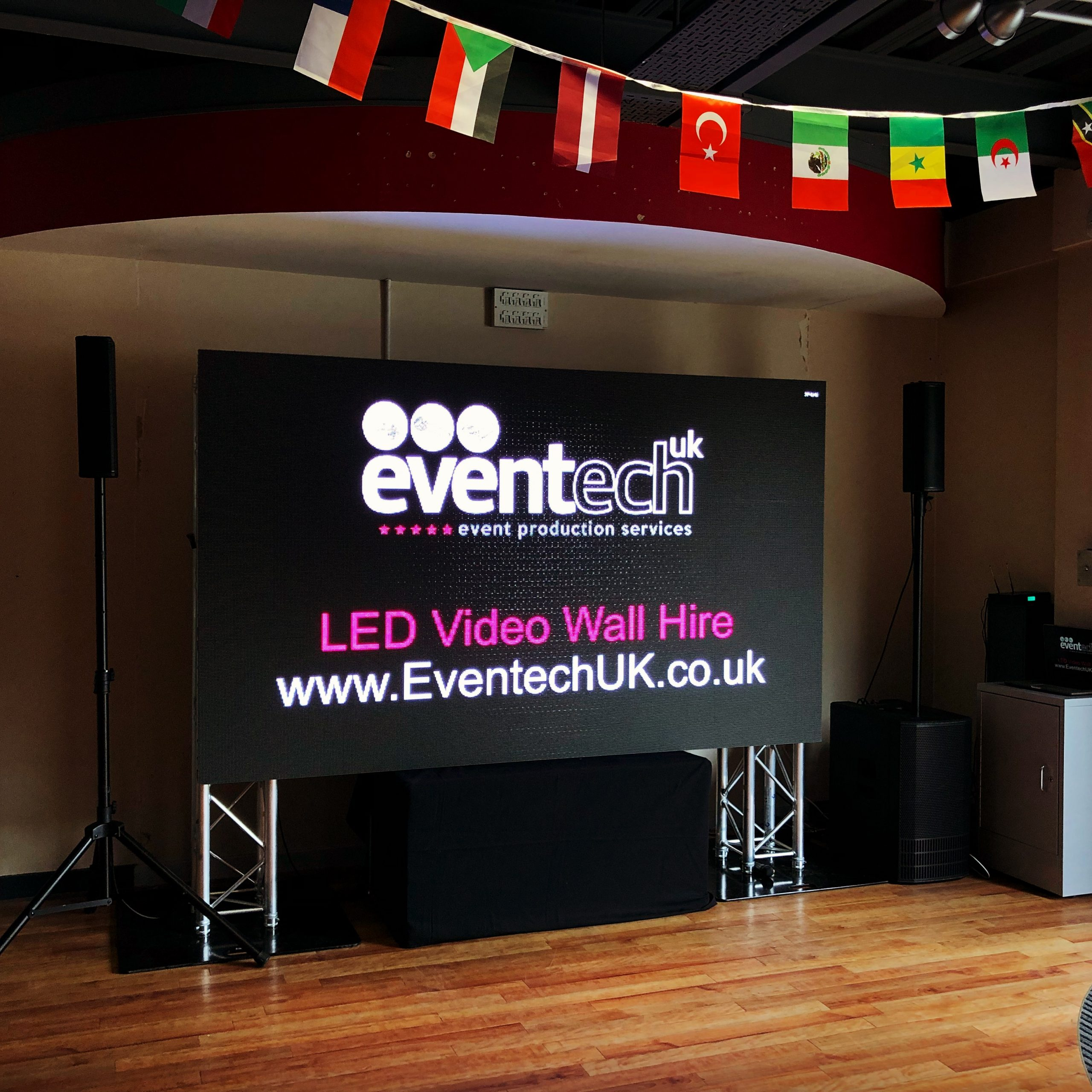 Video Wall Hire from Eventech UK
